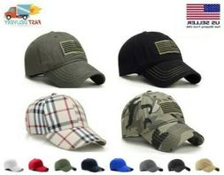 CAP MILITARY ARMY PATROL HAT ~ Adjustable Flag Baseball Golf