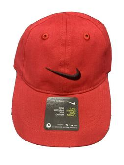 Nike Child's One Size  Red With Black  Ball Cap with Tighten