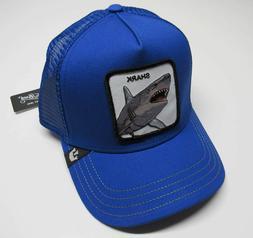 Goorin Bros Chomp Chomp Shark Men's Trucker Hat 101-0636-BLU
