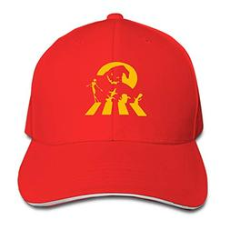 Christmas Party Unisex Washed Twill Baseball Cap Adjustable