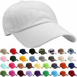 Falari Classic Baseball Cap Dad Hat 100% Cotton Soft Adjusta