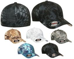 FLEXFIT Classic KRYPTEK 6-Panel Fitted Camo Baseball Cap HAT