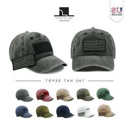 Cotton Cap -  The Hat Depot Cotton & Pigment Low Profile USA