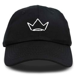 DALIX Crown Dad Hat Baseball Cap Stitched Embroidered Soft C