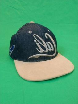 TOP LEVEL DENIM CALI SNAPBACK BASEBALL HAT CAP TRUCKER HAT E
