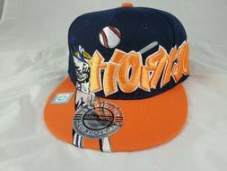 City Hunter USA Detroit Tigers Snap Back Hat Cap Brand New W
