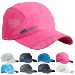 Fashion Unisex Summer Outdoor Sport Baseball Hat Running Vis