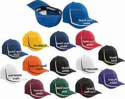 Flexfit Mens Fitted Colorblock Hat Moisture Wicking Baseball