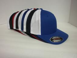 FLEXFIT MESH TRUCKER HAT CAP PLAIN BLANK BASEBALL  FLEX FIT