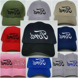 FORD Embroidered Baseball Hat Cap Adjustable Strap FORD
