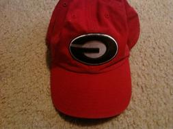 Georgia Bulldogs baseball cap Size Extra LARGE fitted hat si