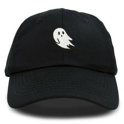 DALIX Ghost Embroidery Dad Hat Baseball Cap Cute Halloween