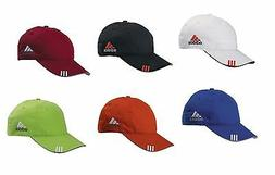 91e2e5e4 ADIDAS GOLF 3-Stripes Hat, Men's Baseball Cap, UV, Relaxed,