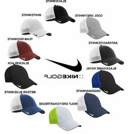 Nike Golf FITTED Swoosh FLEX FIT MESH BACK TRUCKER Cap Struc
