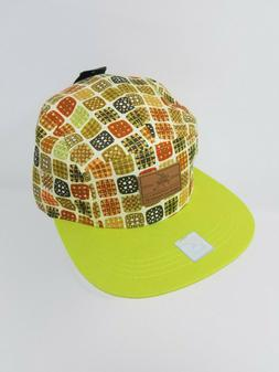 City Hunter Green Pattern Strapback Baseball Hat Cap New Wit