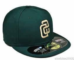 New Era Hat Cap 59Fifty Fitted MLB Baseball San Diego Padres