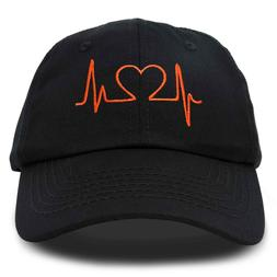 DALIX Heartbeat RN Nurse Hat EKG Baseball Cap Medical Fitnes