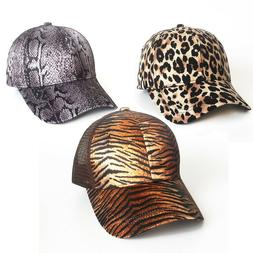 HOT Summer Men Women Unisex Leopard Tiger Snake Skin Print V