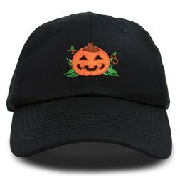 DALIX Jack-O-Lantern Halloween Pumpkin Hat Mens Womens Baseb