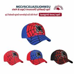 Top Level Junior Youth Kids Size Spiderman Design Embroidere