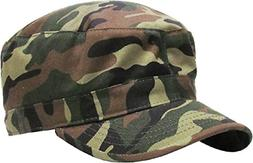 KBK-1464 CAM S Cadet Army Cap Basic Everyday Military Style