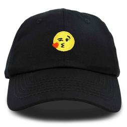 DALIX Kiss Emoji Hat Dad Hats Cute Baseball Cap For Women Ki