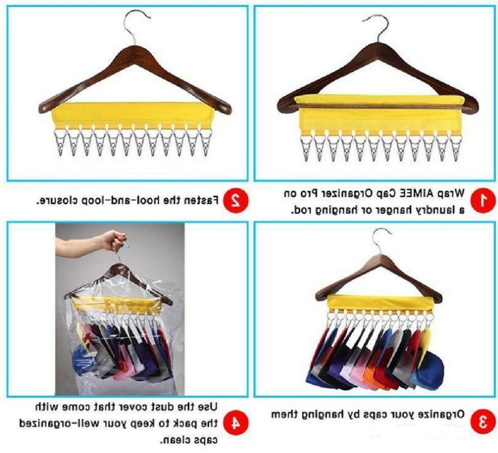 Closet Hat Holder Rack Door