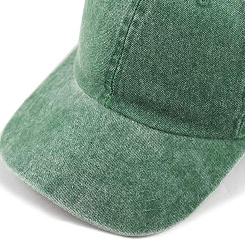 THE HAT DEPOT 100% Cotton Pigment Dyed Profile Panel Hat