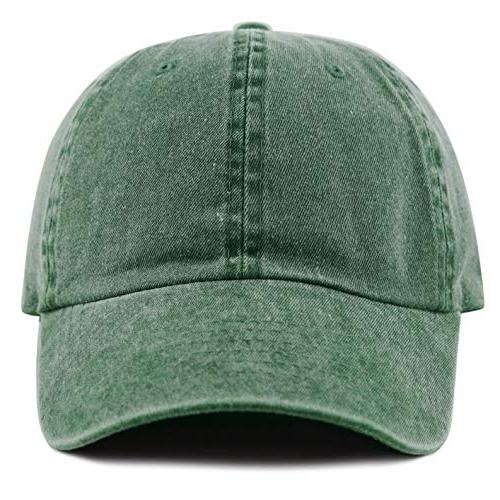 THE HAT Cotton Pigment Dyed Low Profile Hat