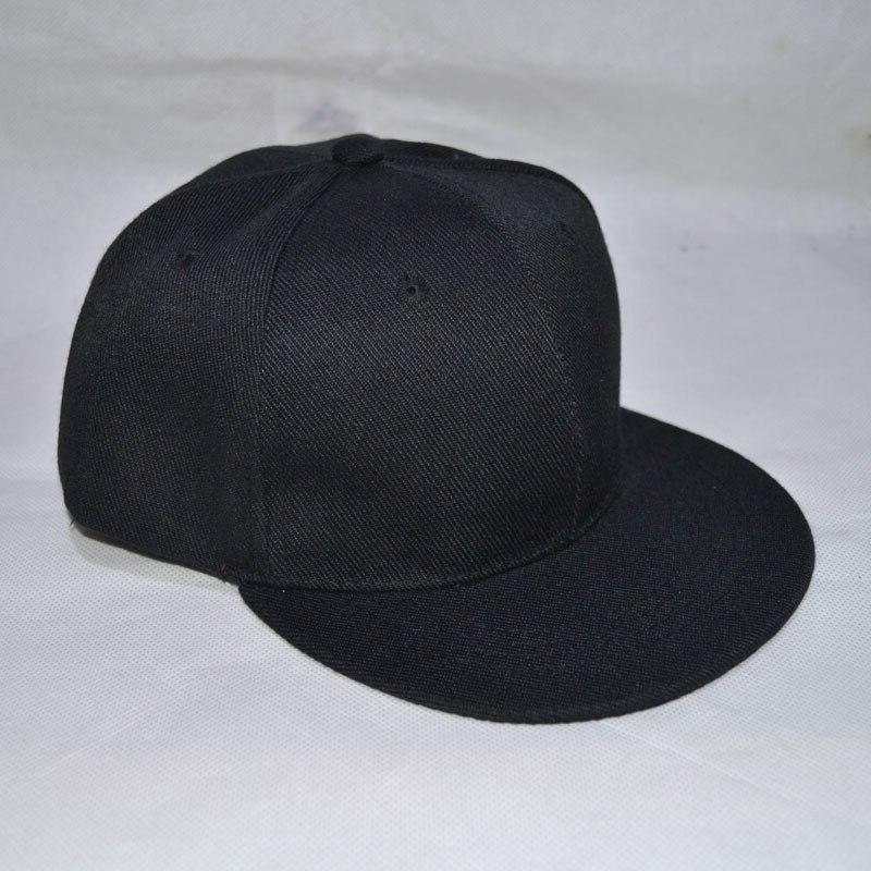 2019 Blank Black Cap Snapback <font><b>Hats</b></font> White Caps for Girls Promotion gift E857