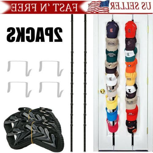 2packs baseball cap hat holder rack storage