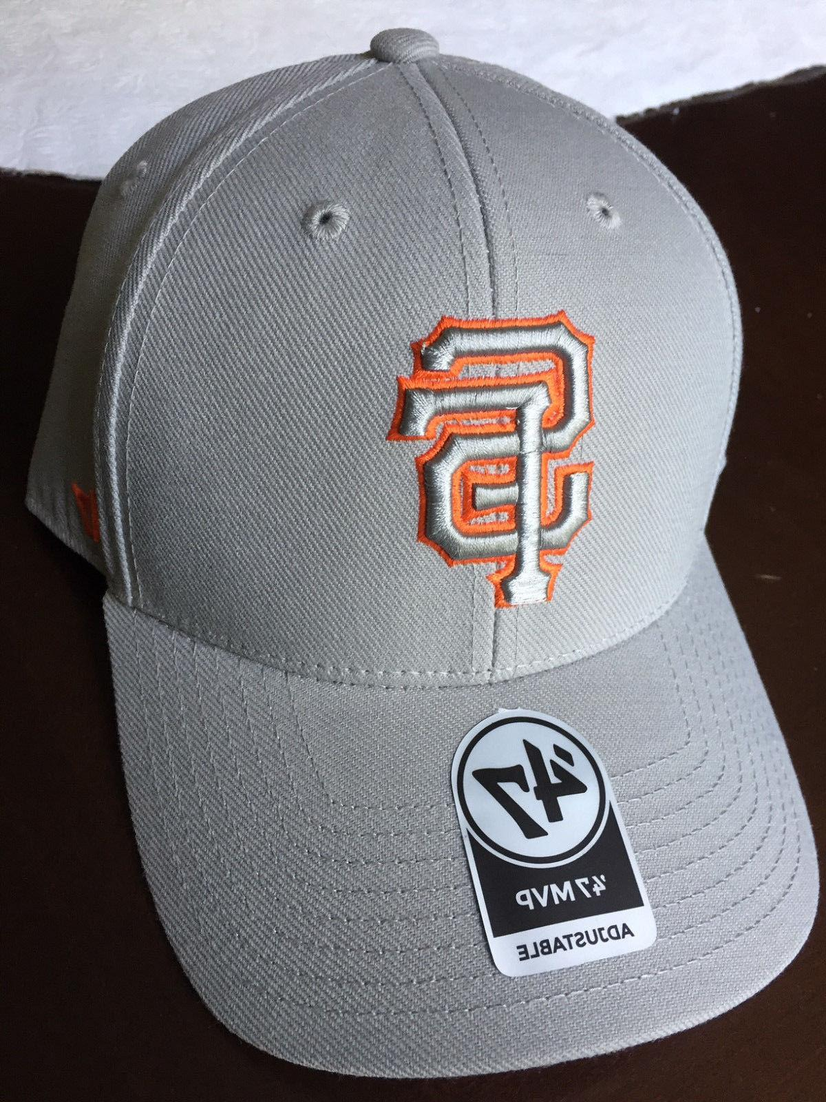 '47 Brand San Francisco Giants Mvp Gray Tc Pop Cap