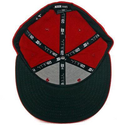 New 5950 Rojos Mexico Hat Cap