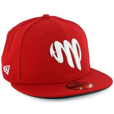 5950 diablos rojos del mexico fitted hat