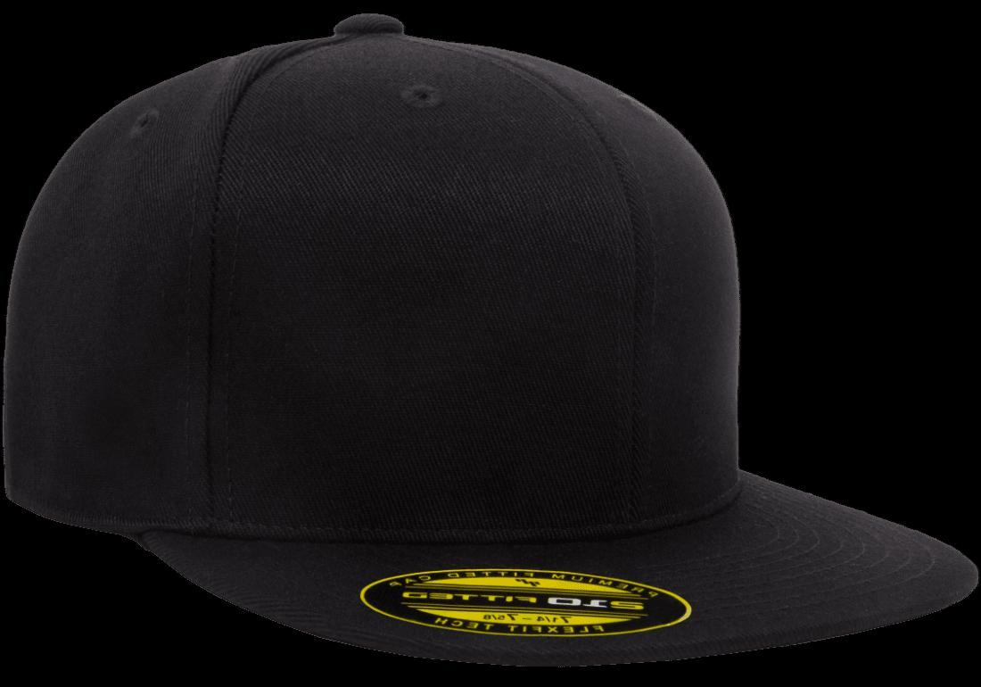 0999c3dbbd556 6210 T New Flexfit Premium Flatbill Fiited Baseball Cap