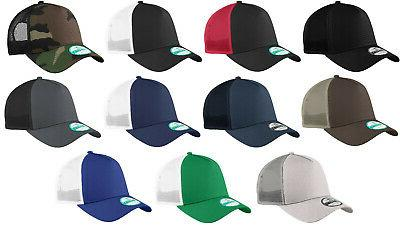 New Era 9Forty Trucker Snapback Mesh Back Hat / Cap - Blank