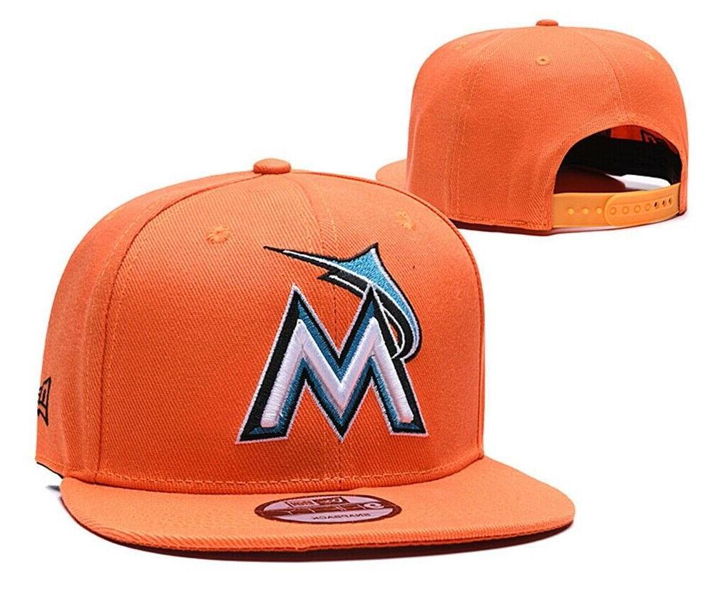 Adjustable Embroidery Flat Brim Baseball Cap Snapback
