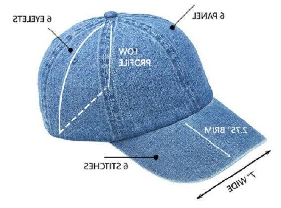 KBETHOS LOW SOLID BASEBALL Hats Cotton New