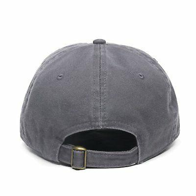 Outdoor Cap Dad Cotton Cap, Charcoal, One