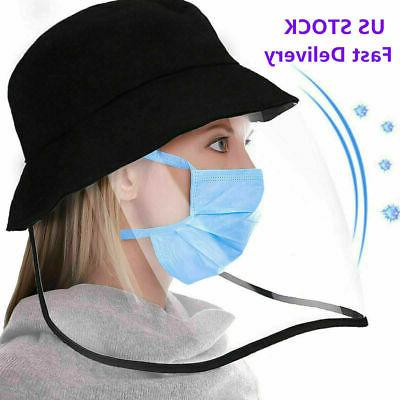 Anti-fog Baseball Cap Full Face Cover Protective Mask Fisher