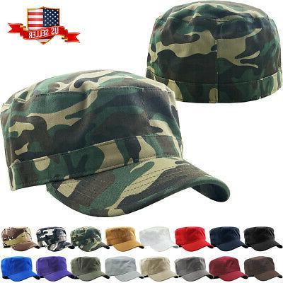 Army Cadet Military Patrol Castro Cap Hat Men Women Golf Dri