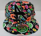 Atlanta Baseball Cap 2XL Glow in the Dark Multi Colored NWT