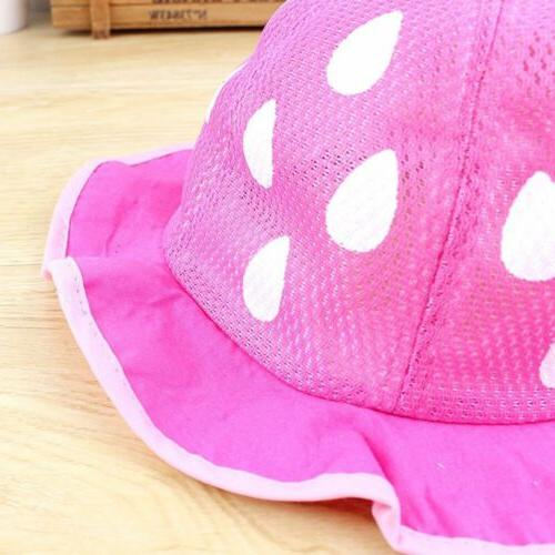 Baby Baseball Sunhat Shaped Strawberry Boys Girls