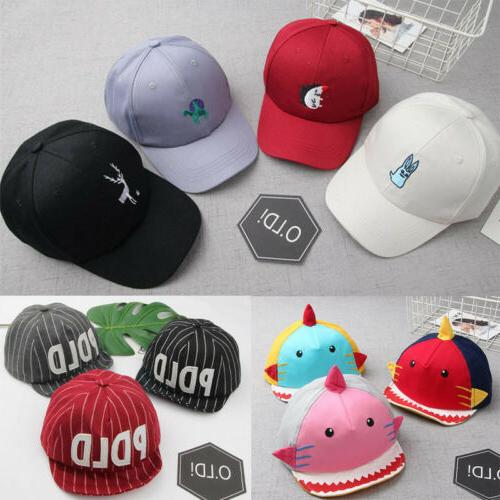 Baby Boys Girls Hats Children Toddler Infant Baseball Hat Pe