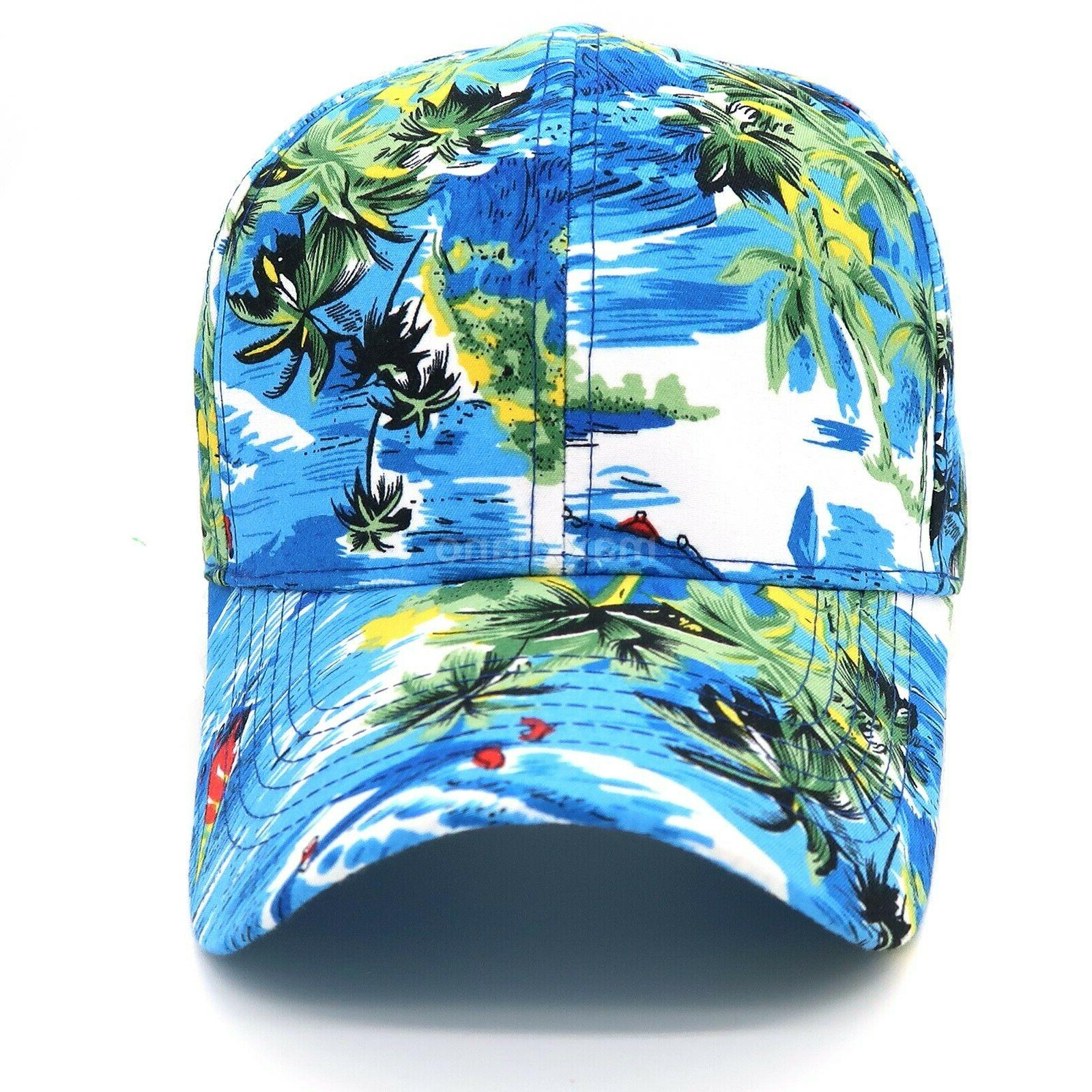 Baseball Cap for and Women Adjustable Curve Bill Floral