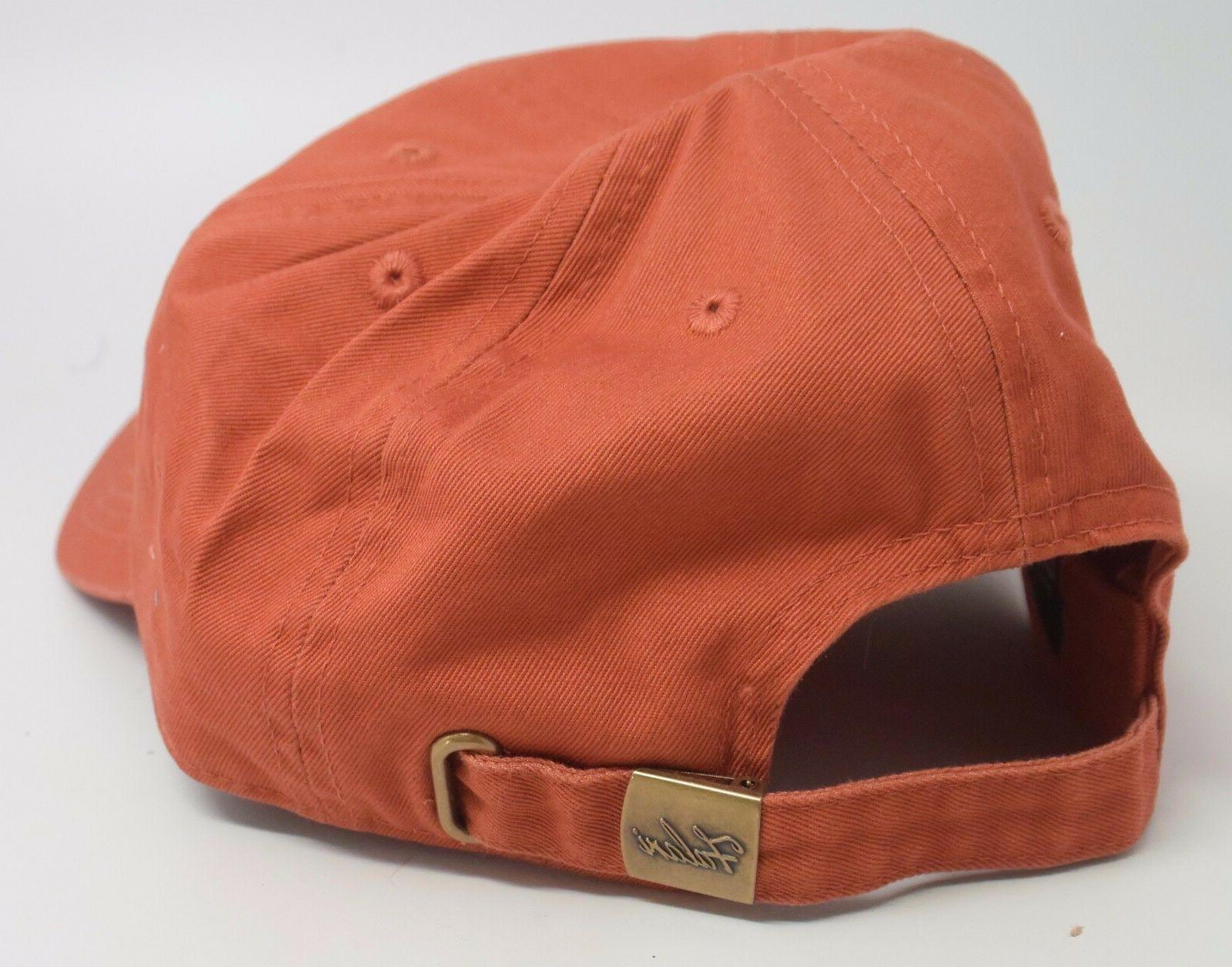 Falari Cap/Hat. 100% Cotton. Adjustable Size. Brown