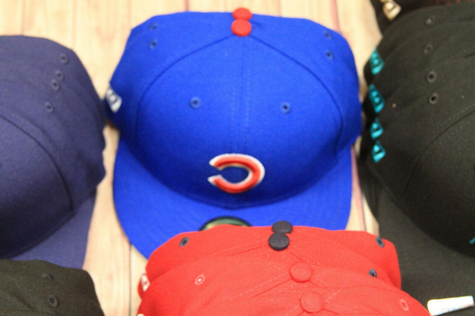 New Era 59Fifty Cap Hat Caps Yankees Nationals Padres