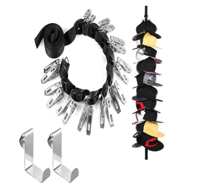 baseball cap holder rack storage organizer over