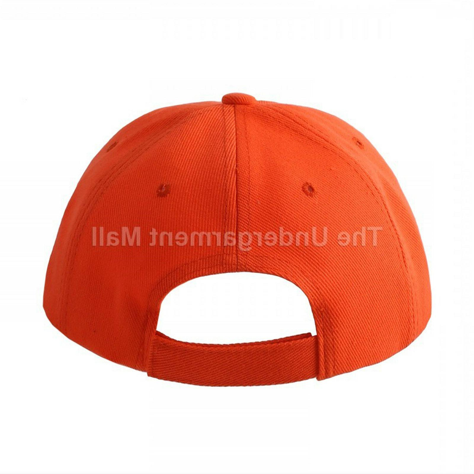 Baseball Cap Girls Hats Polo Hook-N-Loop