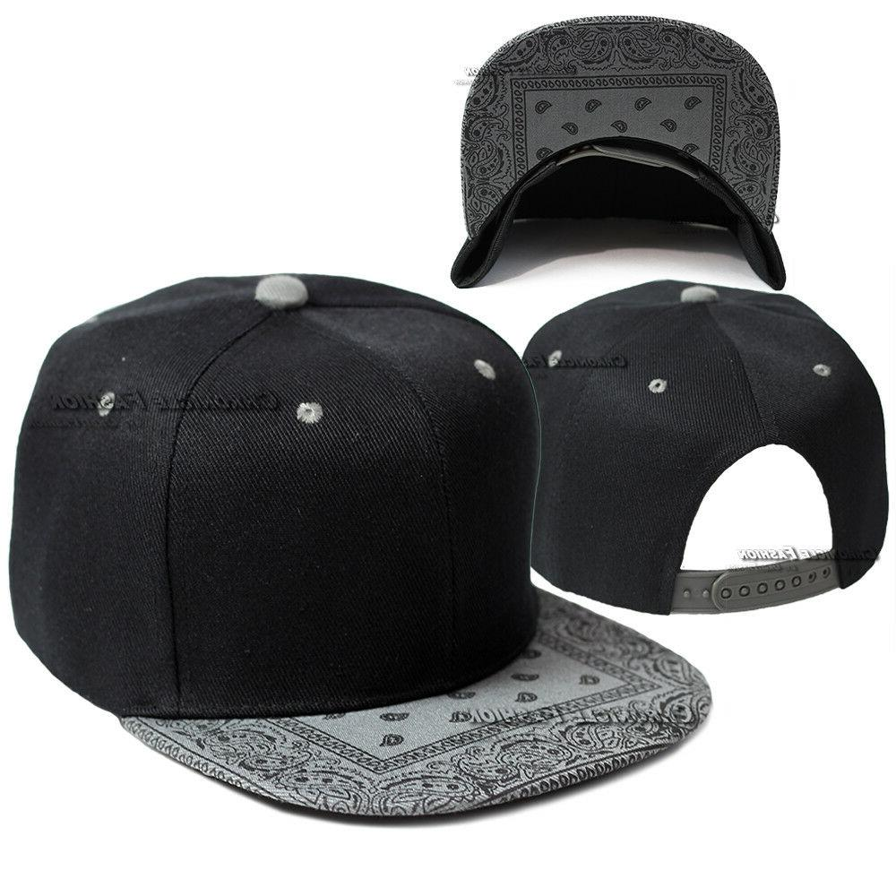 Bandana Cap Snapback Adjustable Hip Hats